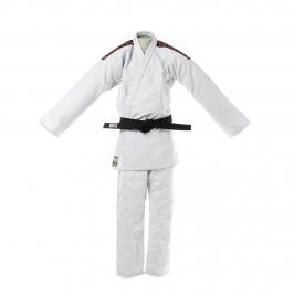 Kimono Judô Shihan Trançado Oficial CBJ Branco Infantil
