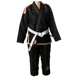 Kimono Jiu-jitsu Scorpion Preto Infantil