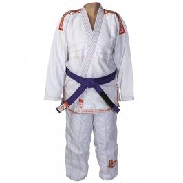 Kimono Jiu-jitsu Scorpion Branco Infantil